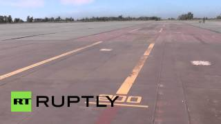 Russia: Land-based aircraft carrier deck simulates the motion of the ocean