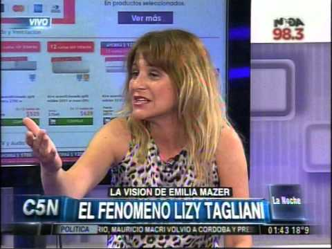 C5N - LA NOCHE: EL EXITO DE LIZY TAGLIANI