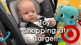 Shop With Us | Baby Toy Shopping At Target