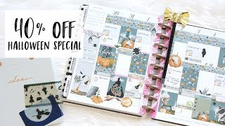 40% OFF HALLOWEEN SPECIAL! - Plan With Me Sunday - Trick or Treat Kit