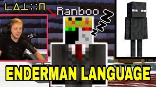 Ranboo Starts SLEEP TALKING in Enderman Language.. (Enderman Lore - Dream SMP)