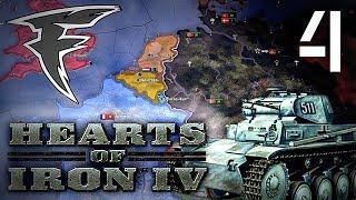 Разносторонняя война. Hearts of Iron IV. #4