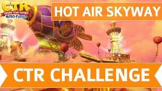 Crash Team Racing Nitro Fueled - Hot Air Skyway CTR Challenge Token Locations