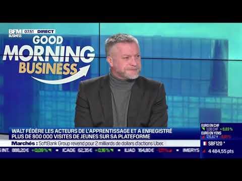 Le président de Walt Association sur BFM Business !