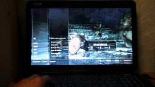 Skyrim на ноутбуке Asus K70AB