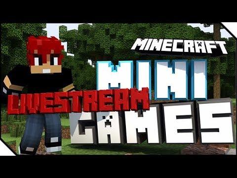 Minecraft Mingames Livestream Gemeinsam Mit Der Community Spielen - Minecraft gemeinsam spielen