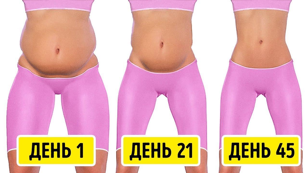 Диета для похудения живота – плоский животик за 7 дней.