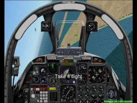 flight simulator a10 thunderbolt ll fs9 youtube