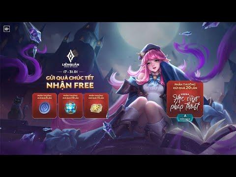 [ ĐĐ Gaming ] Cách nhận quà tết free xịn xò của Garena Liên quân Mobile