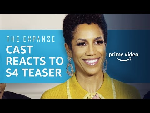 The Expanse Cast | Season 4 Teaser Reactions At NYCC | Prime Video