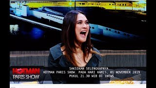 Dengarkan Ketawa Cekikikan Luna Maya ala Suzzana di Hotman Paris Show, 8 November