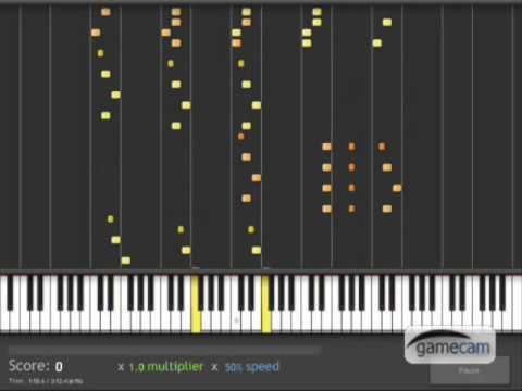 Piano Battle 3 - Synthesia (50% Speed)