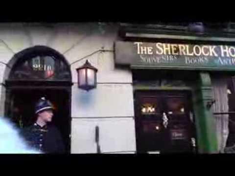 Sherlock Holmes Museum - 221B, Baker Street (2013 tour)
