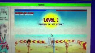 How to make the girls topless in boom boom volley ball