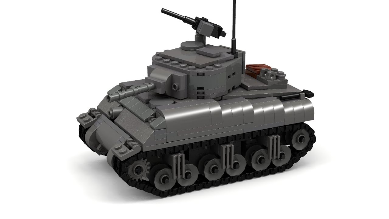 how to make a tank with lego