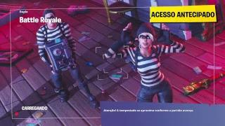 Danse libre aux pistes Fortnite