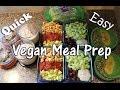Meal Prep for Hormone Balance | NO MOCK MEATS | #HighProteinVegan Bodybuilding