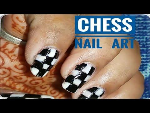 Nail Art Unique Design Chees Design Easy Procedure Youtube