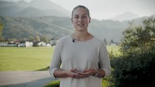 Magdalena stellt Euch das #InnovateTheAlps Interview vor