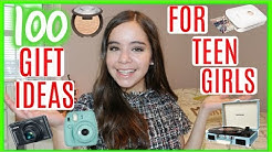 100 Christmas Gift Ideas for Teen Girls | Gift Guide 2017