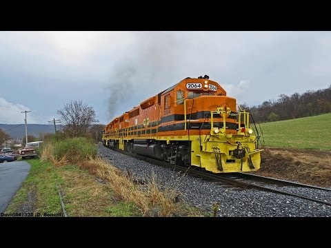 [HD]: Central Oregon & Pacific Geeps on the Maryland Midland (UBHF)