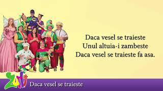 Gasca Zurli - Daca vesel se traieste (cu versuri - lyrics video) #zurli