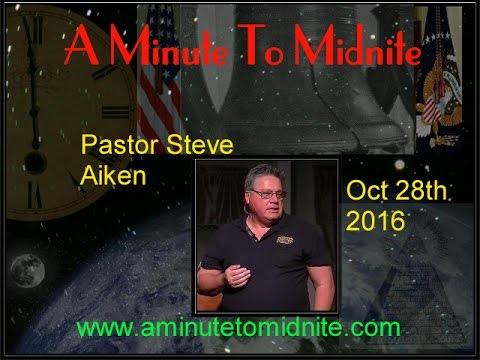 Pastor Steve Aiken - Huge False Flag Event Coming -Alert!