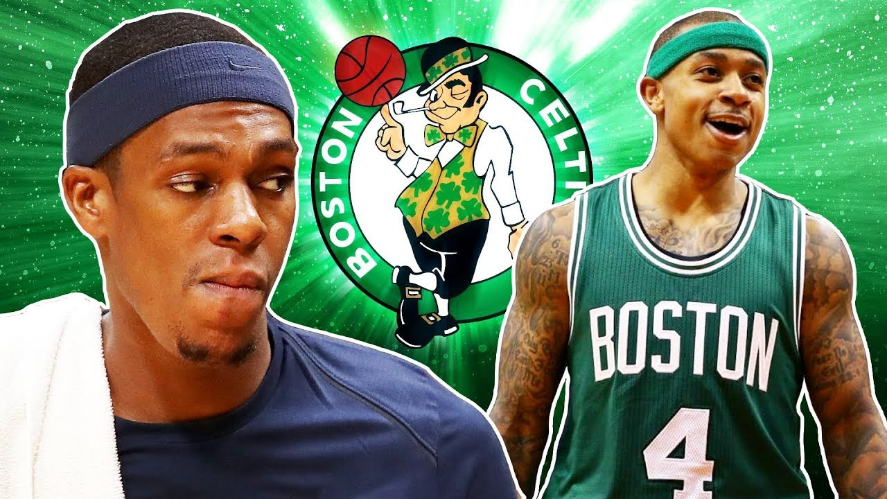 5328e8193 Rondo Says Isaiah Thomas Doesn t Deserve Celtic s Tribute - YouTube