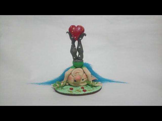 El amor nos pone de cabeza|Huella de Duendes|Paso a paso gratuito en Nicron TV