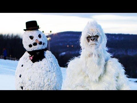 Yeti & Scary Snowman *GONE WILD* If Yeti Were Real 4-6
