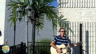 Island Gerry Of Ocean Drive Sings  Jamaica Farewell At Cancun Margarita Restaurant (6/8/12)