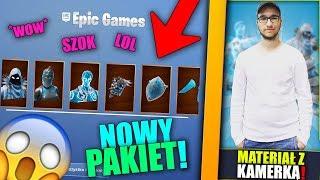 NOWY ZIMOWY ZESTAW w Fortnite!+ KAMERKA! |Eryk019