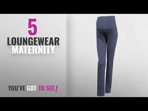 Top 10 Loungewear Maternity [2018]: Mimosa Womens Pregnancy and Yoga Wear Soft Cotton Rich Maternity
