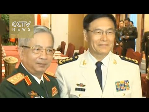 China, Vietnam military officials hail cooperation