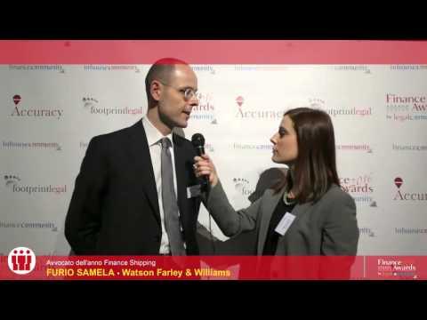 Furio Samela - Finance Awards 2016 by legalcommunity.it
