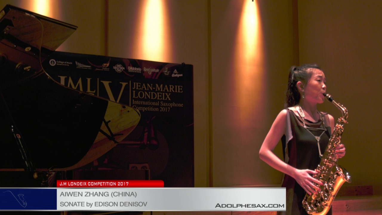Londeix 2017 - Semifinal - Aiwen Zhang (China) - Sonate by Edison Denisov