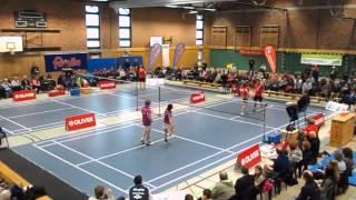 Matchball beim Mixed TSV Trittau - Rosenheim