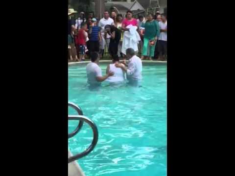 Loris baptism June 7 2015