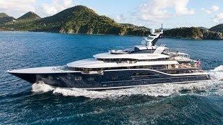 85 Meter Solandge Super Yacht