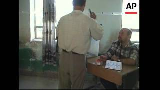 Voting begins in holy Shiite city