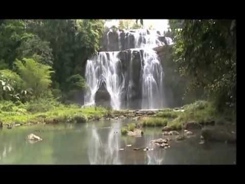 "WATERFALL ""SITUBO FALLS"" ATTRACTION TAMPILISAN FALL 7116"