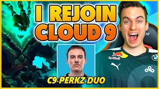 *ANNOUNCEMENT* I Re Joined C9 And Played With C9 Perkz!