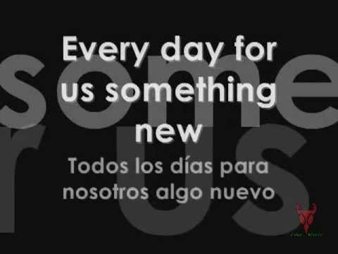 Nothing else Matters - Lyrics en Español e Inglés