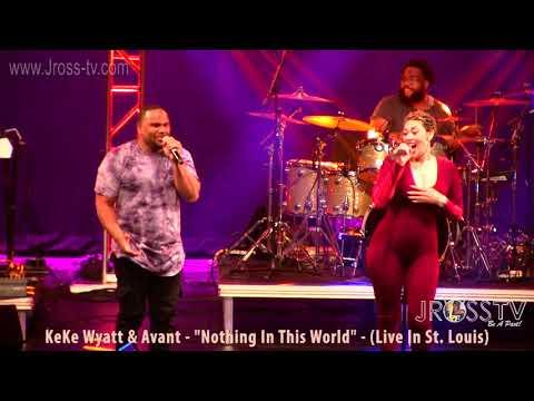 """James Ross @ KeKe Wyatt & Avant - """"Nothing In This World"""" - www.Jross-tv (St. Louis)"""
