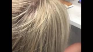 Наращивание волос Запорожье, капсульная техника Наращивания, Синицына Юля , Салон Красоты Амелия