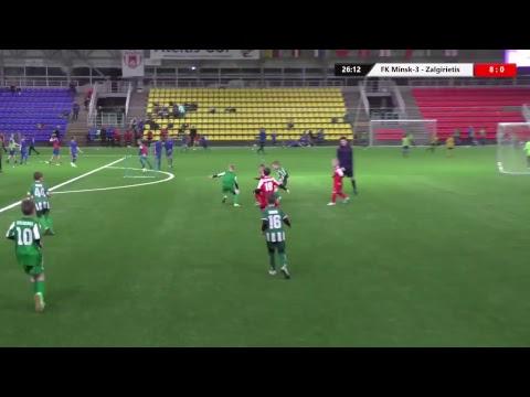 FK Minsk-3 (Belarus) -  Zalgirietis (Lithuania) I