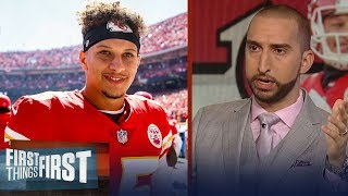 Nick Wright on Mahomes, Chiefs impressive 3-0 game start | NFL | FIRST THINGS FIRST