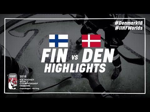 Game Highlights: Finland vs Denmark May 9 2018   #IIHFWorlds 2018