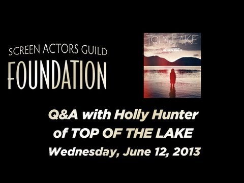 Conversations with Holly Hunter of TOP OF THE LAKE
