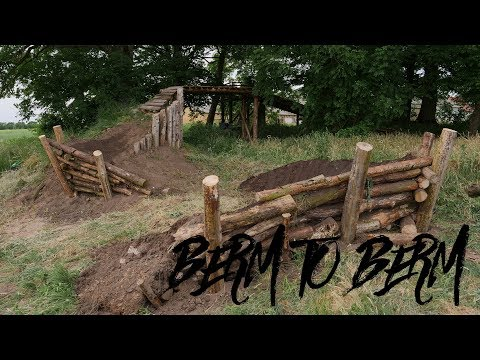 TRAIL BUILDING TIMELAPSE | BERM TO BERM